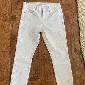 White jeans (petite)